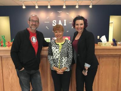 SAI Saskatoon tim and toni